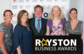 Royston business awards