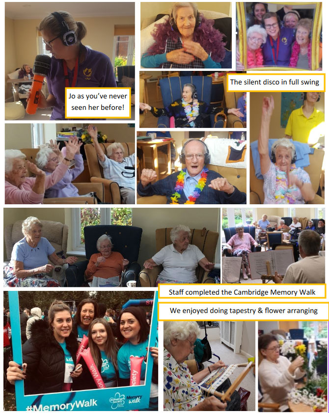 November Activities in Royston Care Home