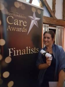Hertfordshire care awards