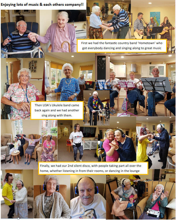 December 2018 at Royston Care Home