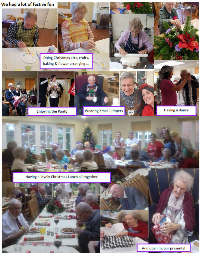 Jan Activities Royston Care Home