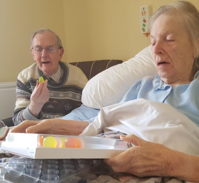 Margaret House is one of the 1st homes to introduce new treats to help with hydration