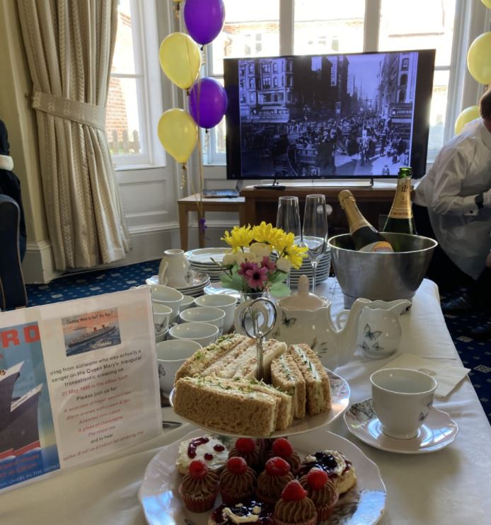 Special RMS Queen Mary Afternoon Tea